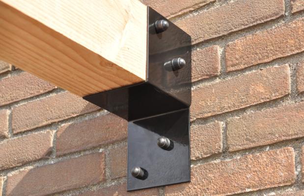 Garviks Pergola Connectors 115cm X 115cm Set Wall 1